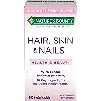 Nature's Bounty Skin, Hair, Nails Formula, 60 Tablets
