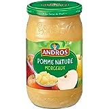 ANDROS Compote Pomme Morceaux 750 g - Lot de 3