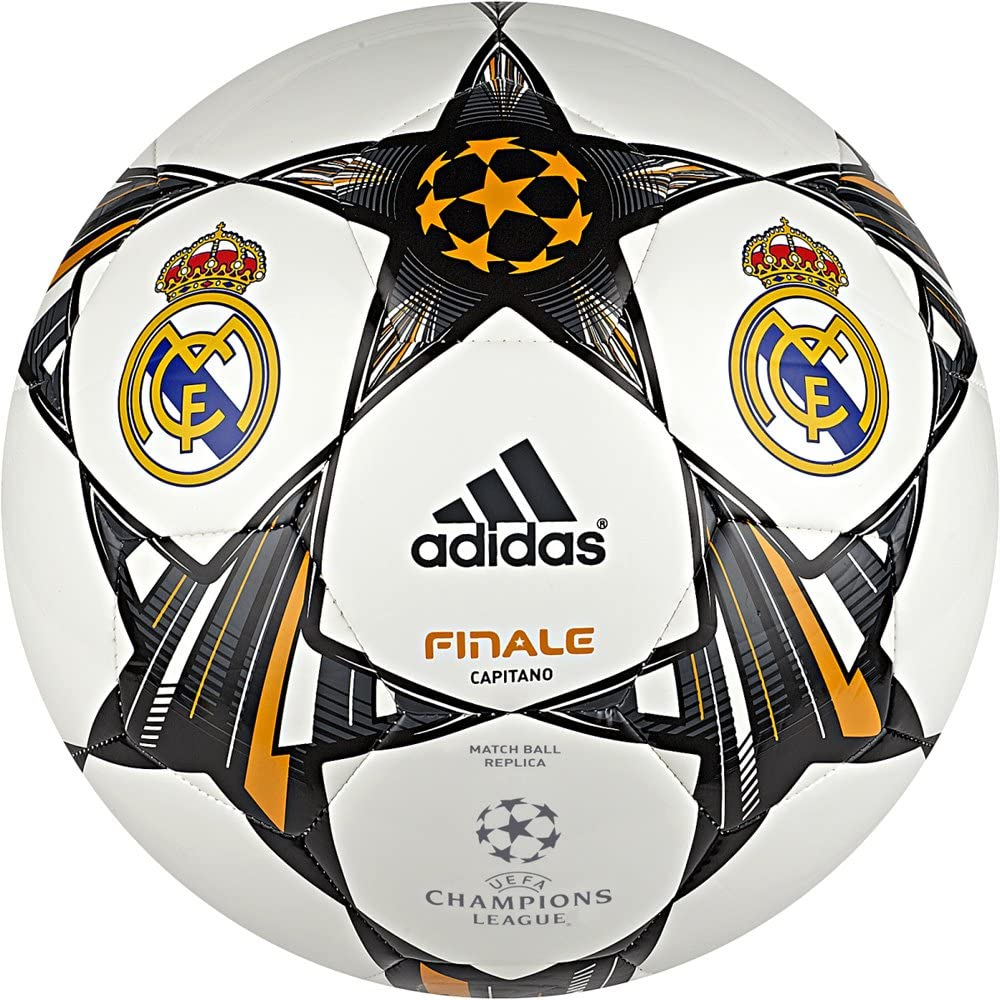 adidas Finale 13 Real Madrid C.F. - Balón de fútbol, Color Blanco ...