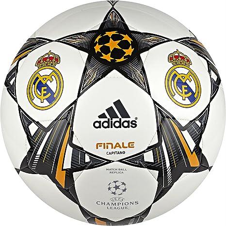 adidas Finale 13 Real Madrid C.F. - Balón de fútbol, Color Blanco ...