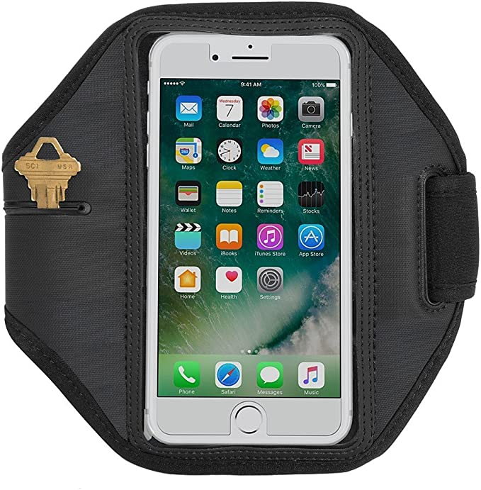 Running Sports Gym Armband Exercise Phone Case Cover For BLU Studio X8 HD 2019