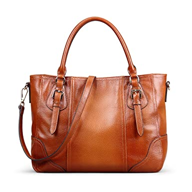 3821f7e87039 Amazon.com  AB Earth Combo Purses Hobo Handbag Genuine Leather Totes  Matching Wallet Satchel Shoulder Bag (Sorrel (Genuine Leather))  Shoes