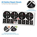 traderplus 3 Pack Replacement AC Dash Button