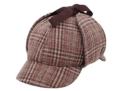 Amazon.com  CHILD Sherlock Holmes Hat Deerstalker Hat (Circumference ... 55daa004be0