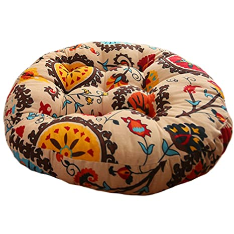 Amazon.com: Kylin Express Quality Round Chair Cushion Floor ...