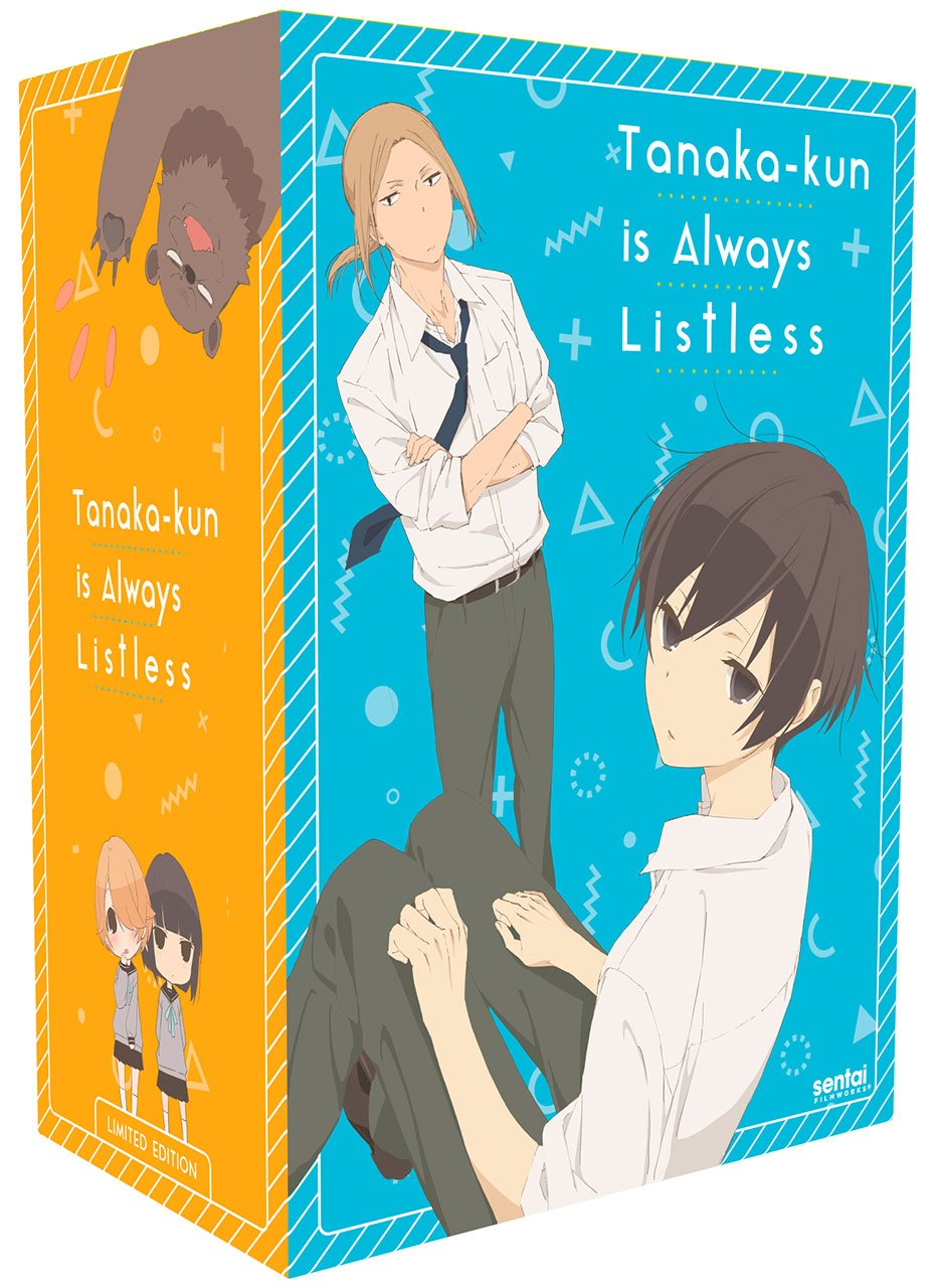 Tanaka-kun Is Always Listless Premium Box Set Blu-ray/DVD (Dual Audio)