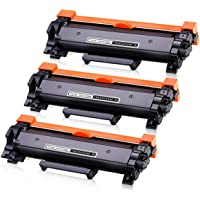 TN2450 TN-2450 with CHIP Toner Compatible for Brother HL-L2350DW MFC-L2750DW MFCL2710DW MFCL2713DW HLL-L2375DW(Black,3…