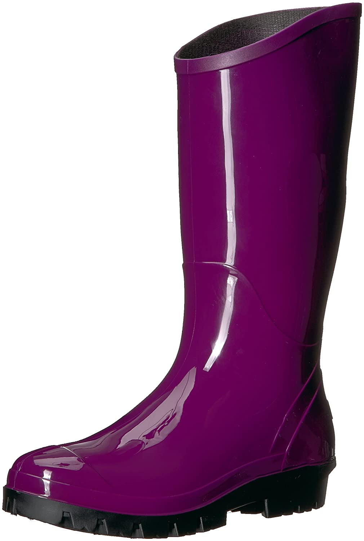 Columbia Women's Rainey Tall Rain Boot B073WDJ3BN 8 B(M) US Dark Raspberry, Black