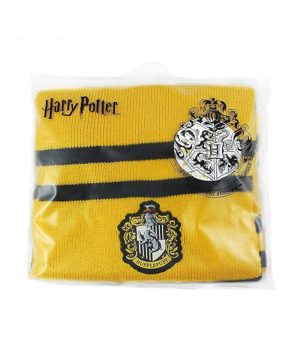 Harry Potter SCIARPA Casa di TASSOROSSO Scuola di Magia di Hogwarts