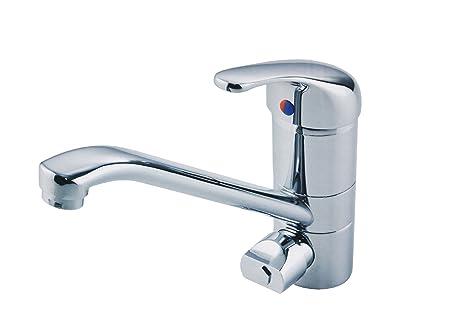 Miscelatore franke granito rubinetto cromato con doccetta per