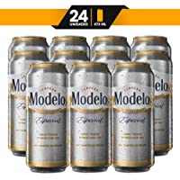 Cerveza Clara, Modelo Especial, 24 latas de 473ml c/u