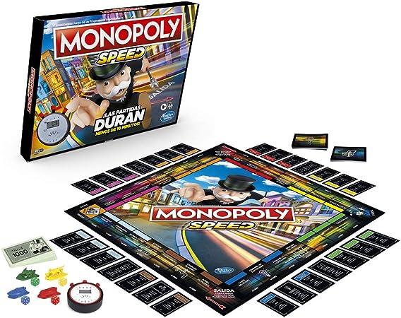 Monopoly- Speed (Hasbro E7033105): Amazon.es: Juguetes y juegos