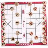 Fenteer ウッド 将棋 中国チェス チェスピース チェスボード 全6サイズ - チェス直径3.0cm