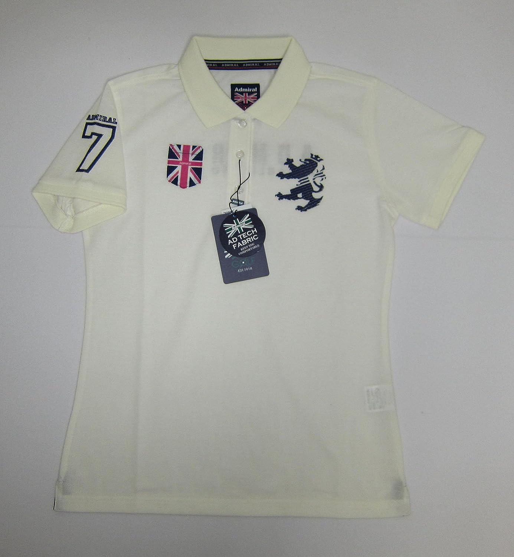 (アドミラルゴルフ)Admiral GOLF ADLA551 ポケットUJ ポロシャツ L ホワイト B013883FTI