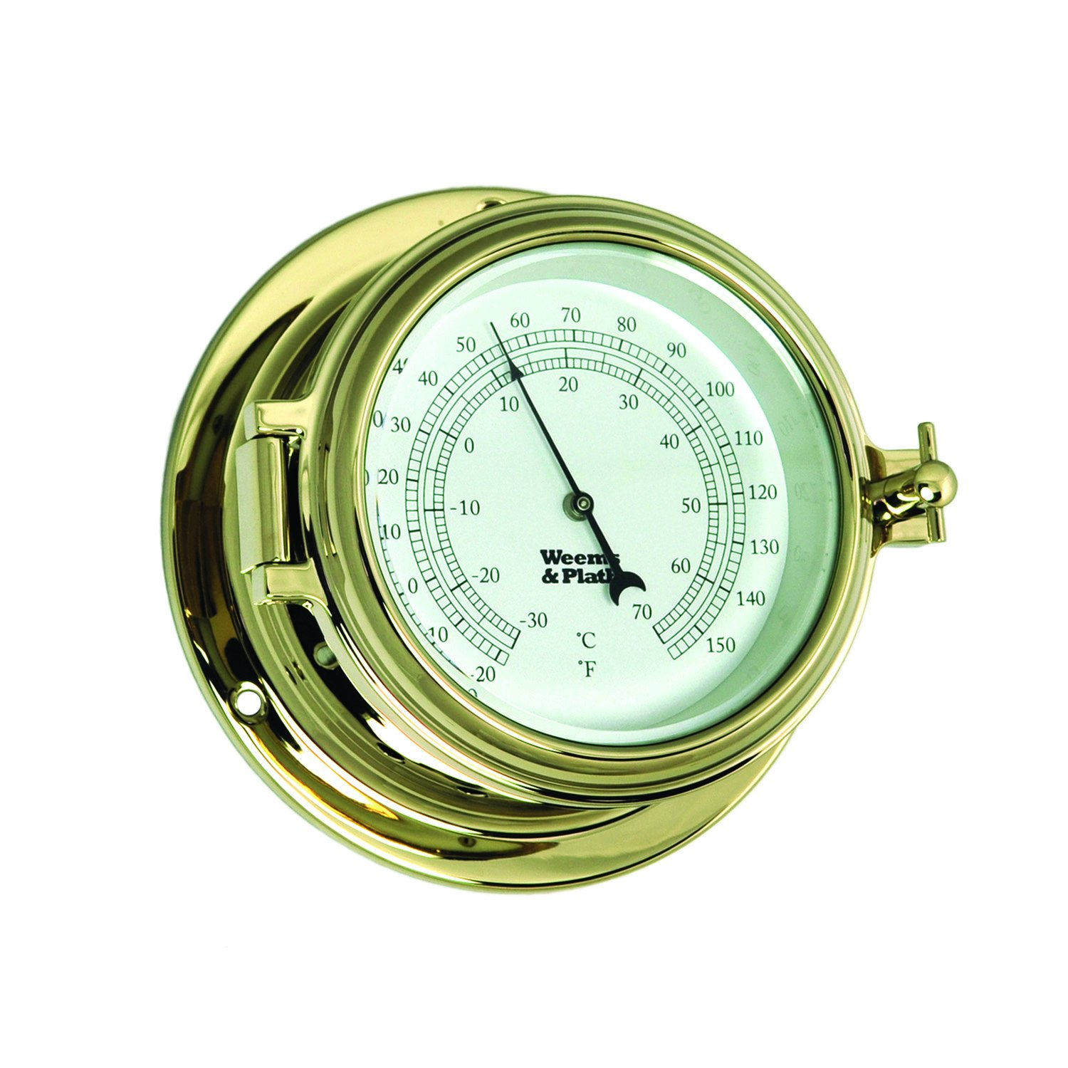 Weems and Plath Endurance II 105 Thermometer Brass by Weems & Plath