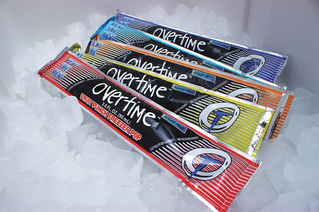 Electrolyte Freezer Pop, Freezer Pop, Sugar Free, 150 Package Quantity