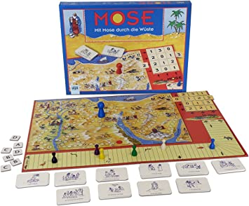 Para niños con diseño de-juego de mesa para niños a partir de 9 años de con Moisés... : Amazon.es: Hogar