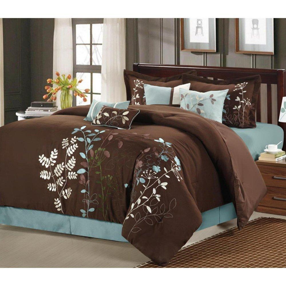 Elegant Amazon.com: Chic Home Bliss Garden 8 Piece Embroidered Comforter Set,  Queen, Beige: Home U0026 Kitchen