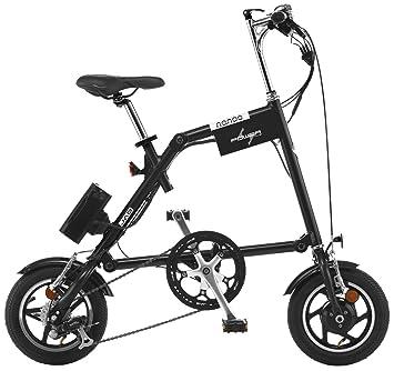 Nanoo EFB12 Electrica Bicicleta plegable elŽctrica con pedaleo asistido Nanoo Negro