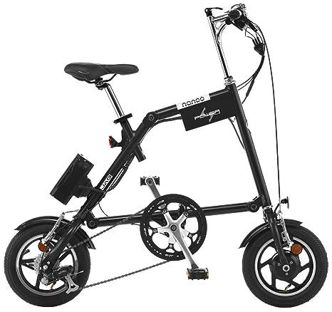 Bici Pieghevole Nanoo Prezzo.Nanoo Efb 12 A Pedalata Assistita Black Amazon It Sport E Tempo
