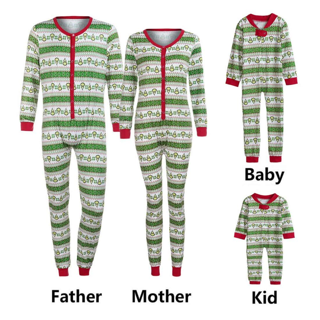 Amazon.com   Iusun Family Pajamas Matching Sets 40a59d9d7