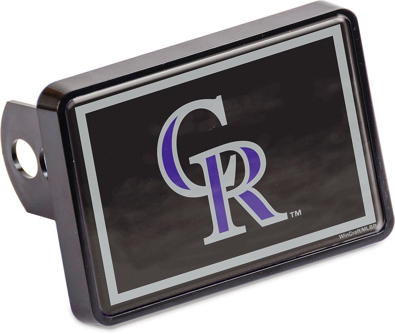Stockdale Colorado Rockies Universal Hitch Cover Color Bumper Trailer Auto Cap Baseball