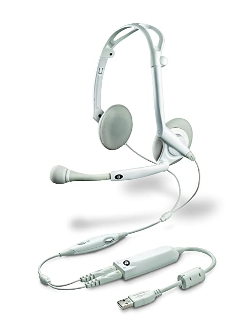 Plantronics  Audio 85 Foldable Stereo Headset for MAC (White) (Discontinued  by Manufacturer)