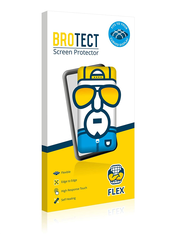 42 mm brotect Pellicola Copertura Completa Compatibile con Garmin vivomove Style Full-Cover 3D Curvo 2 Pezzi