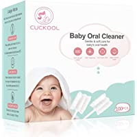 [100-Pack] Baby Tongue Cleaner, Baby Oral Cleaner, Upgrade Teeth and Gum Cleaner for Babies and Infants aged 0-36 Months