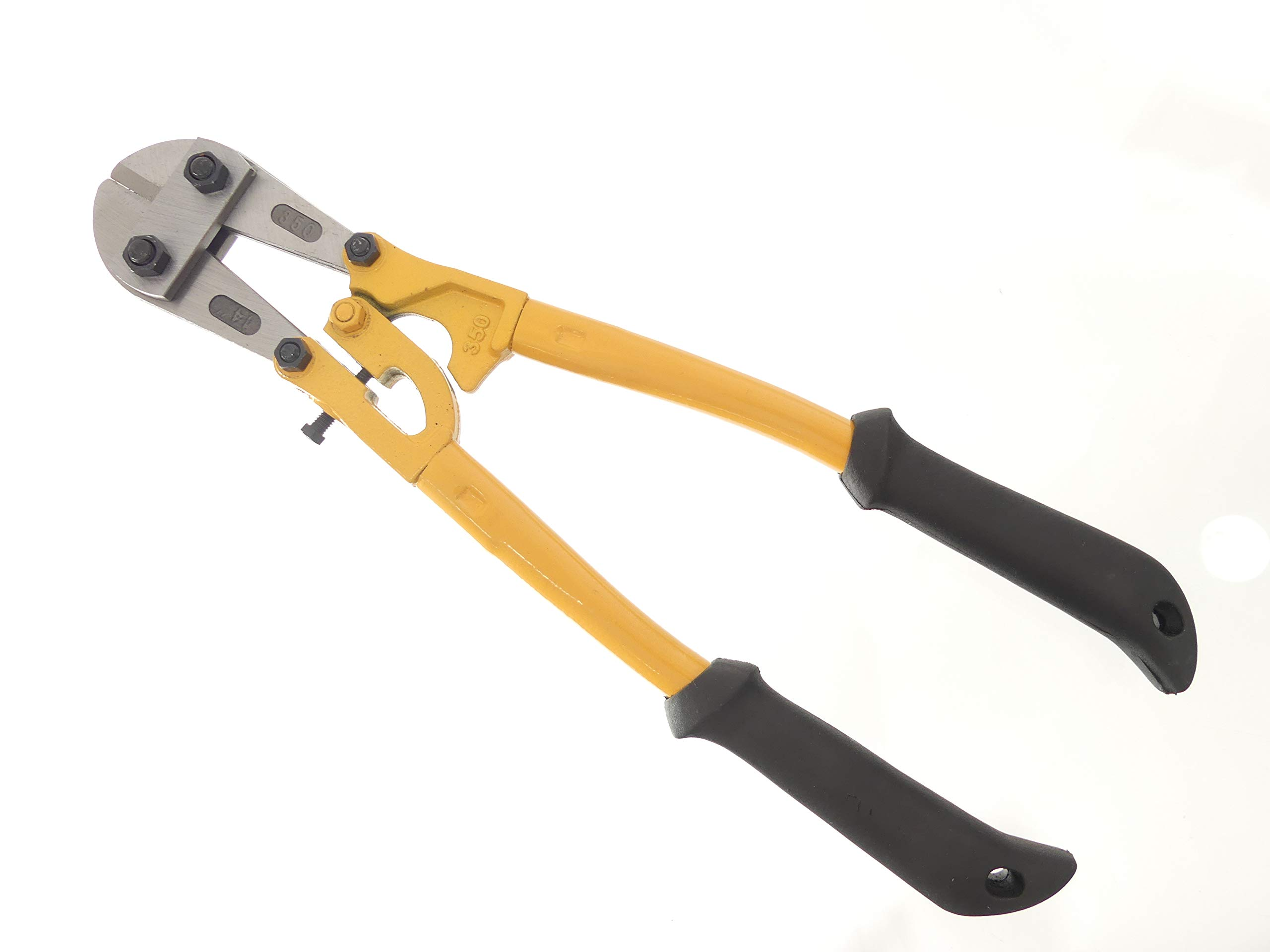 Tech 12'' Bolt Cutter, Compound Action, Wire, Cable, Chain, Comfortable Grips, Snips, Hand Tools by Tech Team