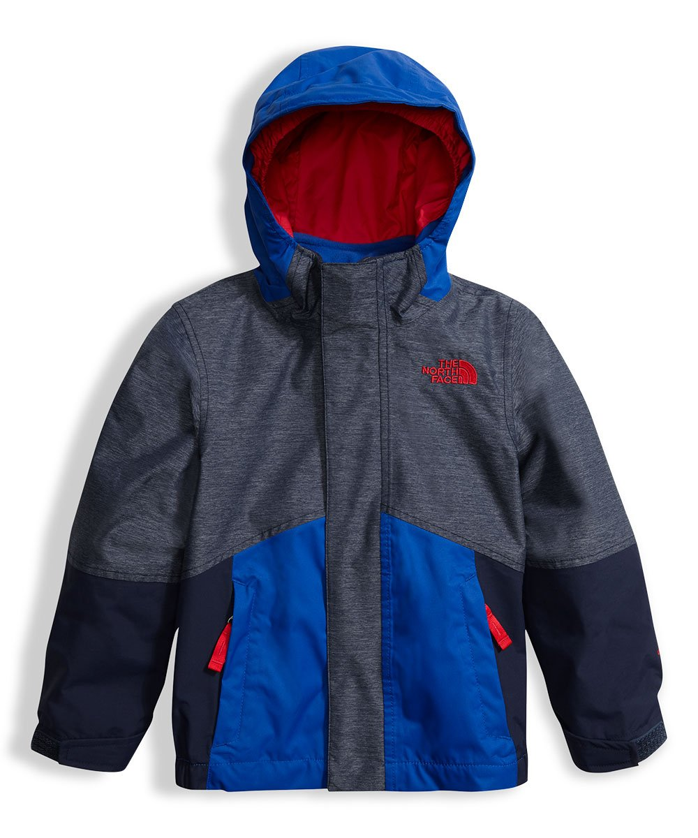 The North Face Toddler Boys' Boundary Triclimate Jacket Cosmic Blue Heather 3T