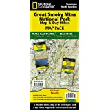 Great Smoky Mountains National Park Map & Day Hikes [Map Pack Bundle] (National Geographic Trails Illustrated Map)