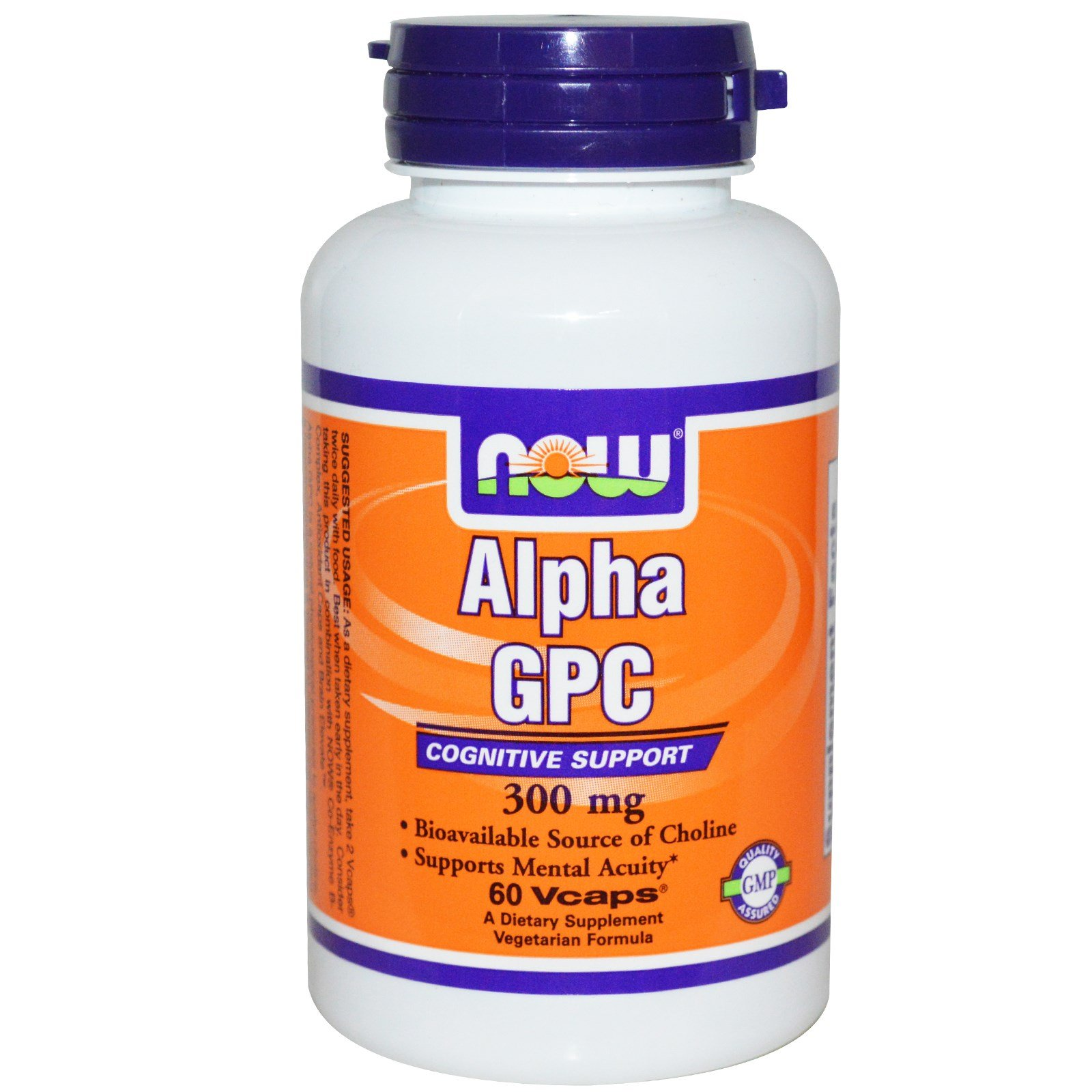 Now Foods, Alpha GPC, 300 mg, 60 Vcaps - 3PC