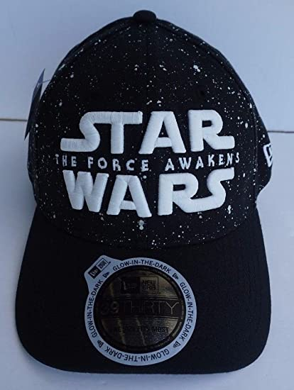Amazon.com   Disney Parks New Era 39Thirty Star Wars The Force Awakens Glow  In The Dark Baseball Hat Cap   Everything Else 8d2c85acb00