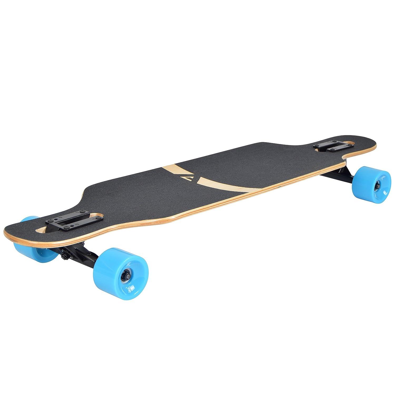 Drop-Through Freeride Skate Cruiser Boards con rodamientos de Bolas ABEC Alta velicidad Apollo Longboard edici/ón Especial Tabla Completa