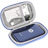 Hard Travel Case for HP Sprocket Portable Photo Printer by co2CREA (Blue)