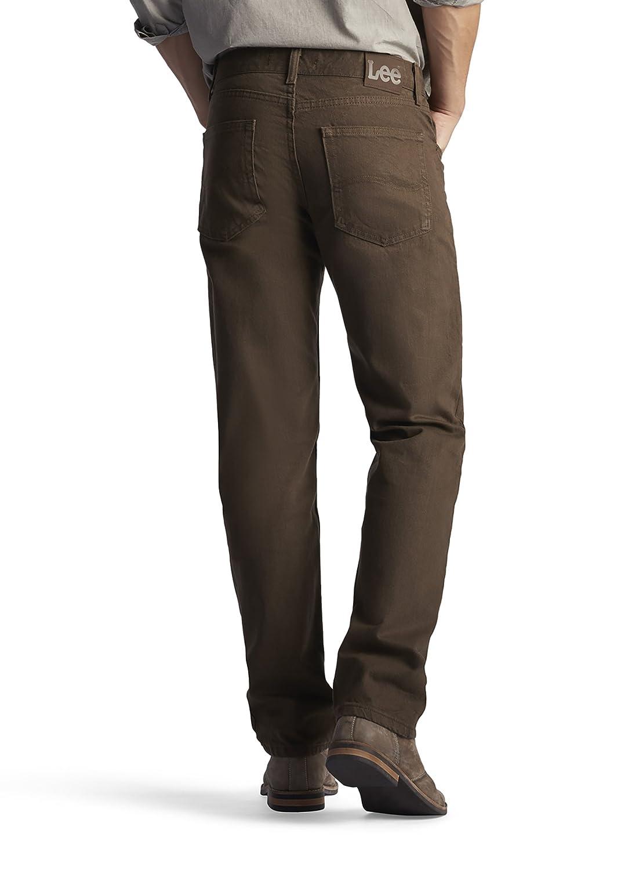 Lee Mens Regular Fit Straight Jean