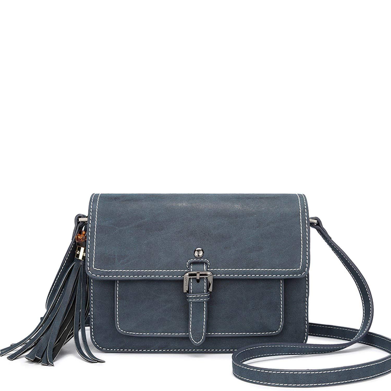 Navybluee 2019 Handbags New Tassel Bag Shoulder Bag Messenger Bag