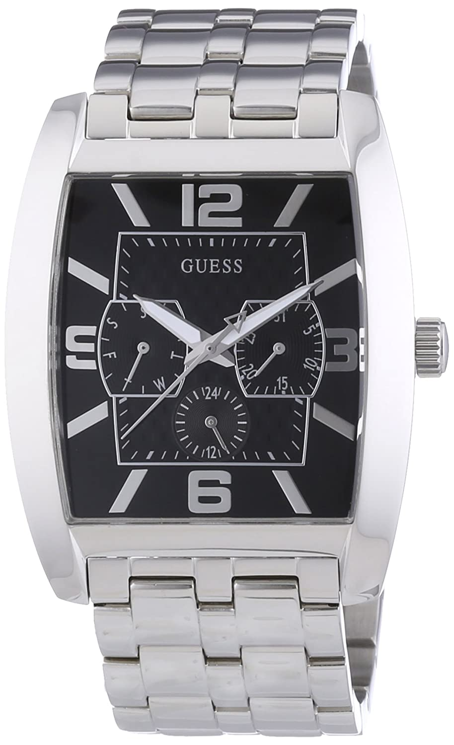 Amazon.com: GUESS Mens W95015G1 Power Broker Multifunction Watch: Guess: Watches