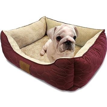 Amazon.com: Cama American Kennel Club para mascota, redonda ...