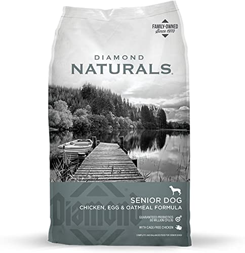 Diamond Naturals Dry Senior Dog Food Formula Made