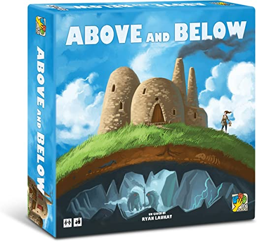 Dv Giochi dvg9026 – Juegos de Mesa Above and Below: Amazon.es ...