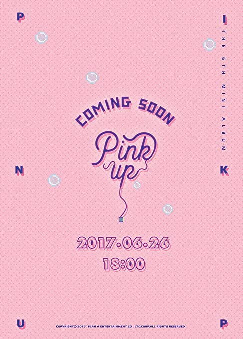 APINK - Pink Up (6th Mini Album) [A ver ] CD+Photobook+Photocard+Folded  Poster+Free Gift