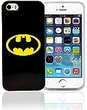 Phonix dC comics batman logo original avec film de protection d'écran pour apple iPhone 5/5S