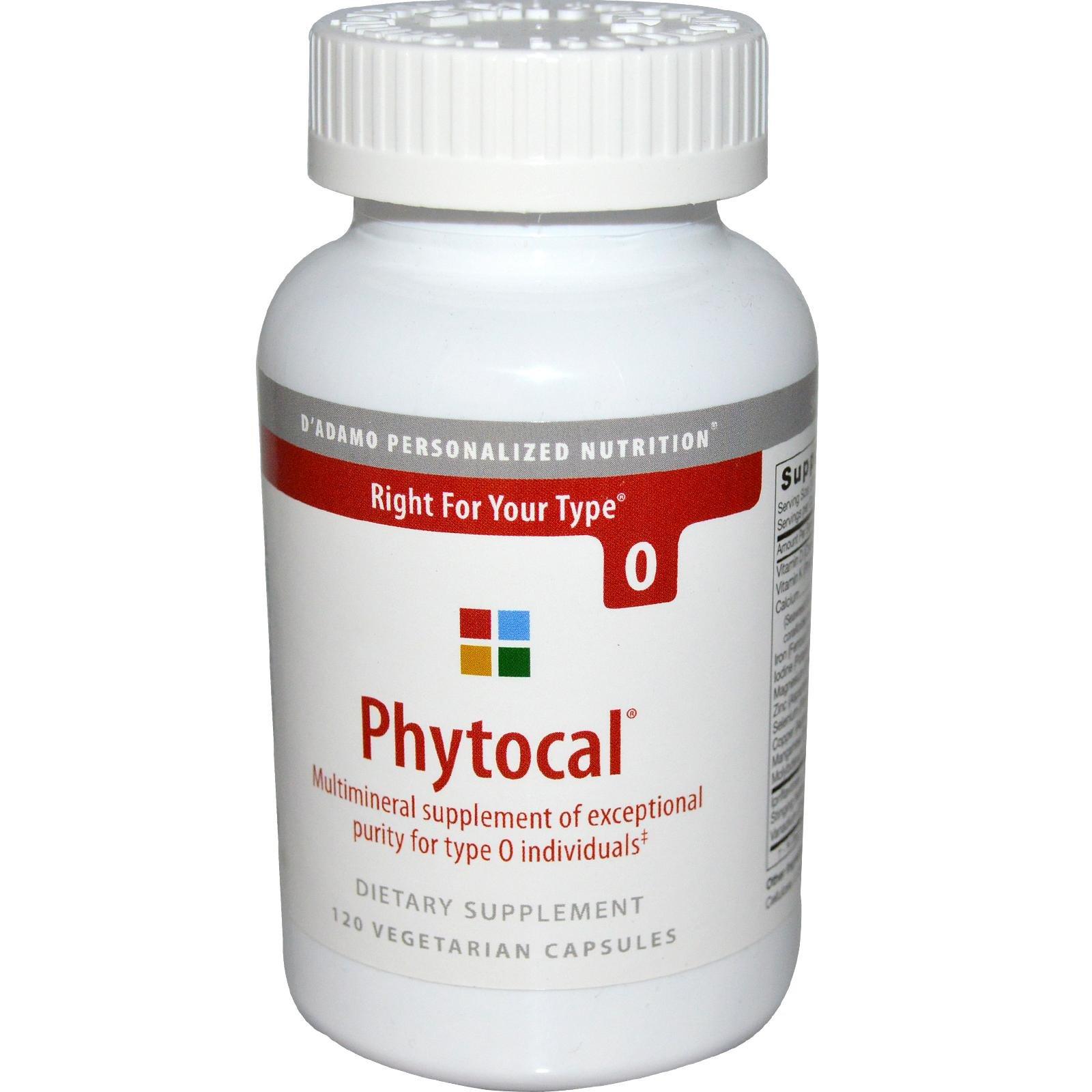 D'Adamo - Phytocal O 120 vcaps
