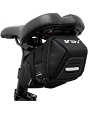 BV Bicycle Y-Series Strap-On Bike Saddle Bag/Bicycle Seat Pack Bag, Cycling Wedge with Multi-Size Options