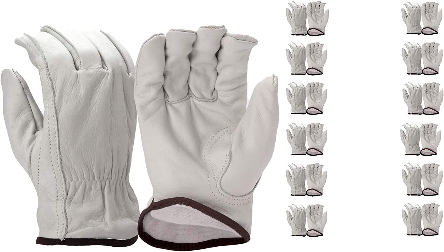 Pyramex GL2006K Series Rare Insulated Cowhide Driver Sale price 12 Leather Glove