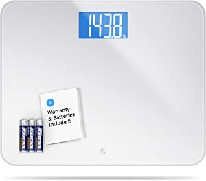 Greater Goods High Capacity Digital Bathroom Body Scale for Weight, 440 Pound Capacity (Silver Weight Scale)
