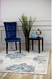 4745 Distressed Cream 710x106 Area Rug Carpet Large New