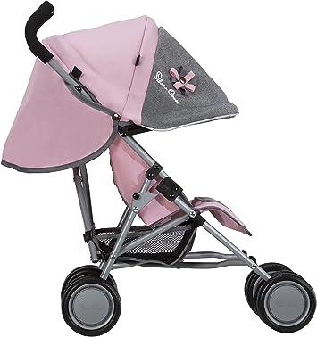 Recommandé pour Les Enfants DE 18 Mois à 3 Ans Play Like Mum 1371040 Silver Cross Poussette pour poupées Pop Tissu Vintage Pink